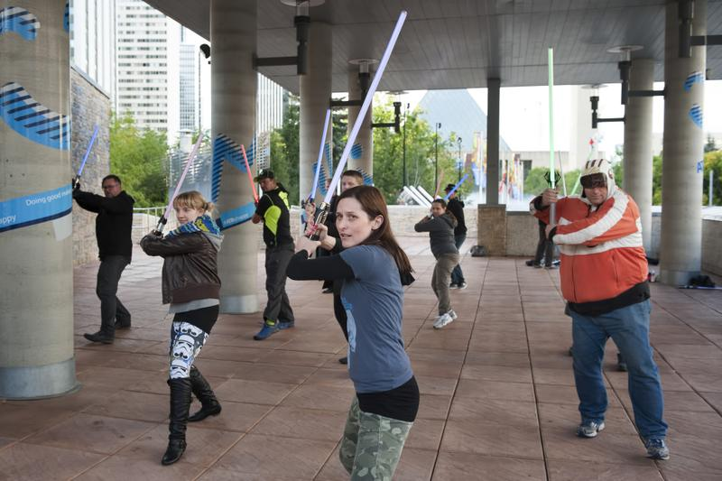Lightsaber Training