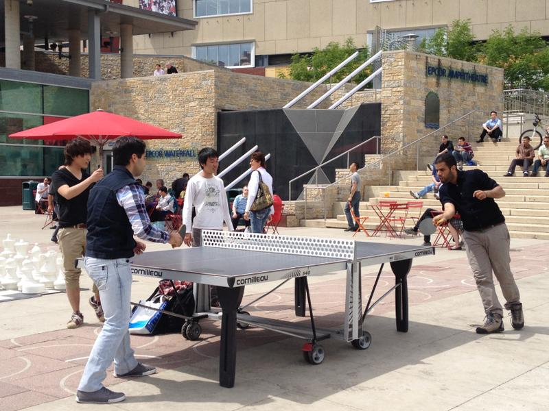 Table tennis on June 13